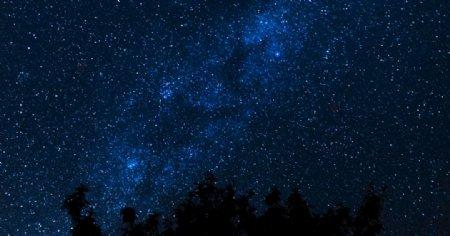 星空背景梦幻星空图片