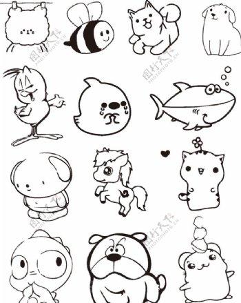 各种可爱的动物图片