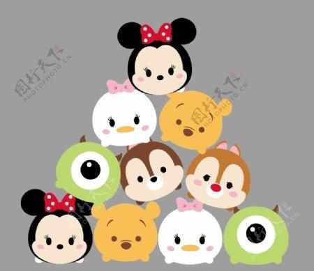 迪士尼小动物图片