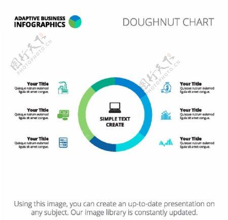 圆形信息图表图片