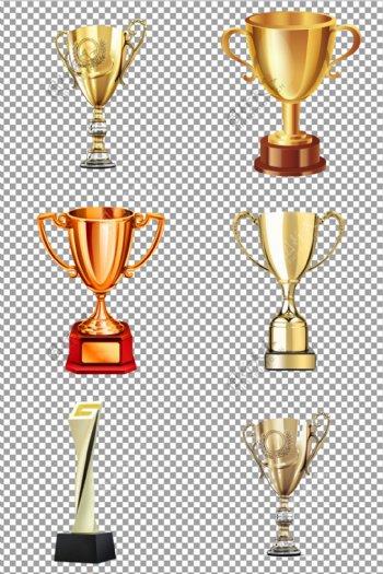 金色奖杯图片
