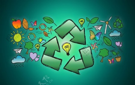 回收环保图片