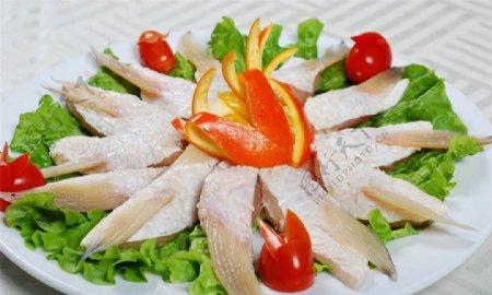 烤鱼腩图片