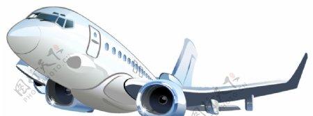 飞机卡通矢量素材图片