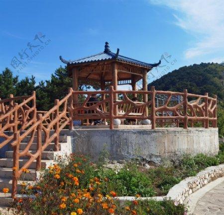 亭子中式建筑图片