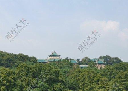 武汉大学樱顶老图书馆图片