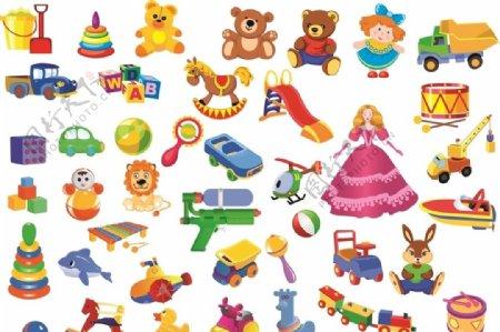 儿童玩具卡通图片