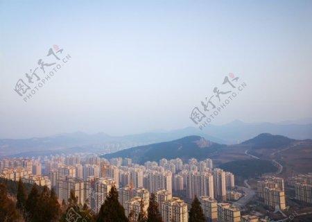 山和高楼图片
