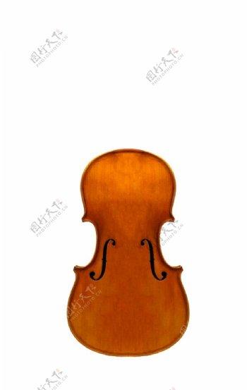 小提琴木质主体图片