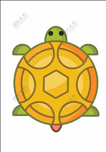 矢量乌龟图片