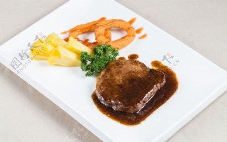 牛排美食图片