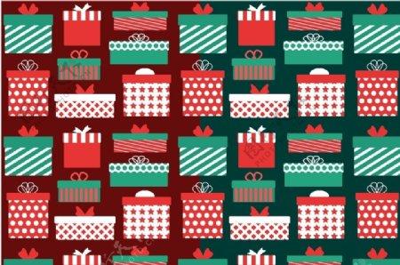 圣诞节礼物元素背景图片