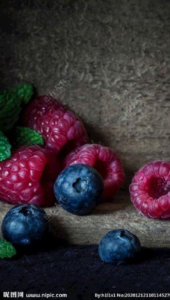 水果蓝莓图片
