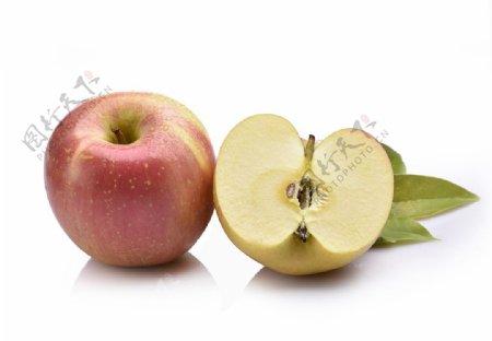 白底苹果图片