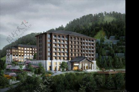 山中别墅酒店图片