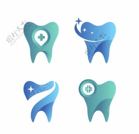 牙齿图标图片