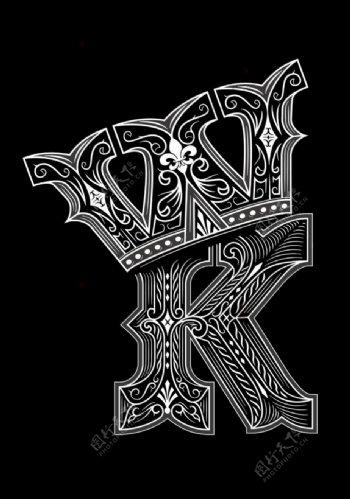 字母皇冠图片