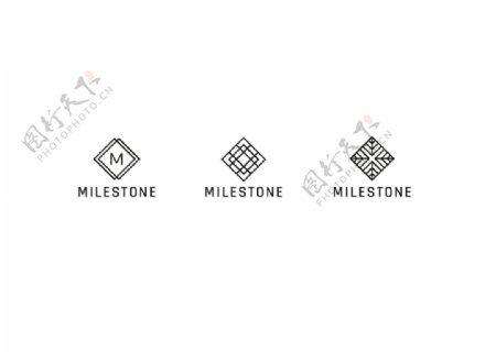 复古logo标签图片