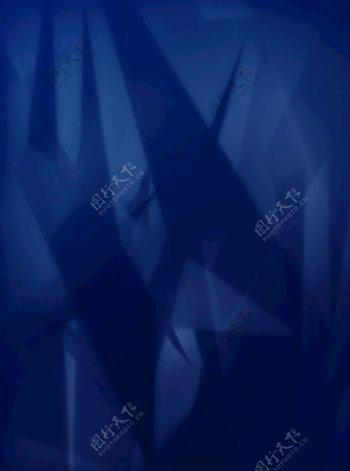 炫酷蓝色渐变背景图片