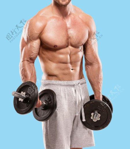 健身肌肉男图片