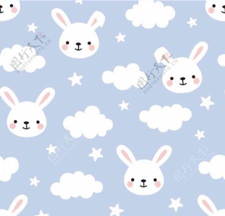 兔子云图片