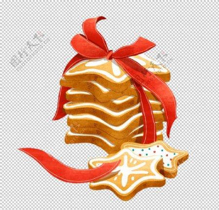圣诞节日系列圣诞装饰卡通面包饼图片