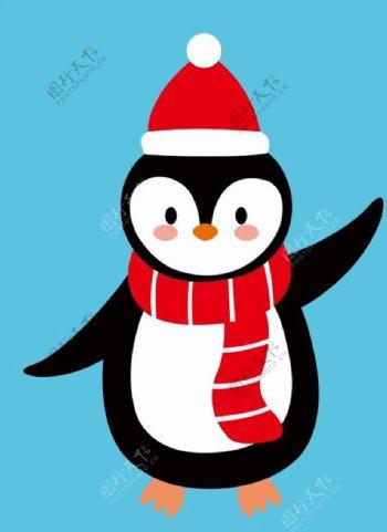 圣诞小企鹅图片