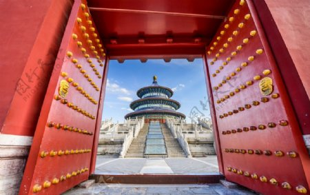 北京故宫天坛图片