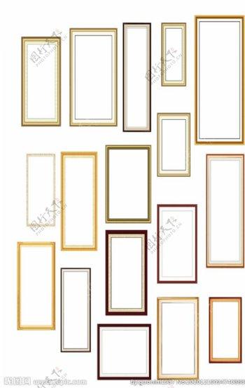 复古相框画框图片