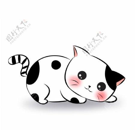 可爱简约猫咪图片