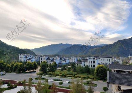 景区酒店风景图片