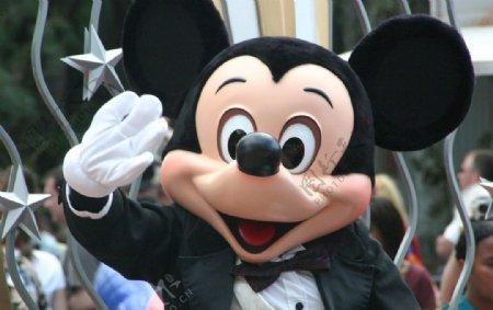米老鼠波手米老鼠华特迪士图片