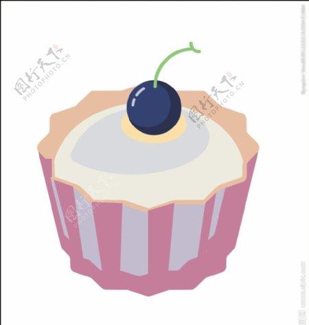 茶杯蛋糕图片