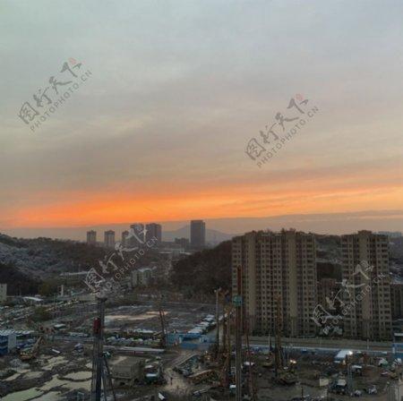 日出金陵图片