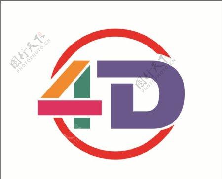 4D标志图片