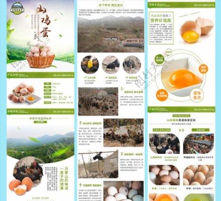 山鸡蛋淘宝详情页图片