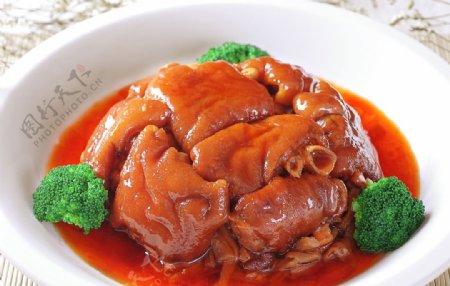 红烧猪蹄图片