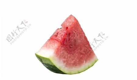 一块西瓜图片