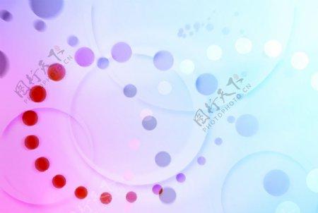 炫酷的彩色光影背景图片
