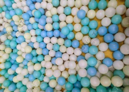 海洋球图片