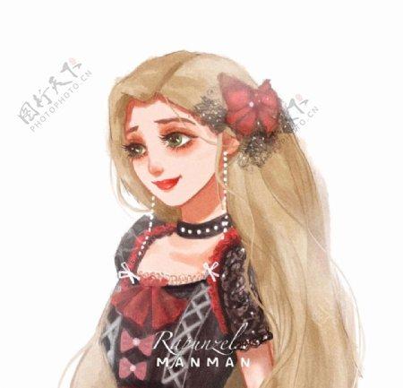 公主头像图片