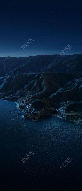 山川河流风景图片