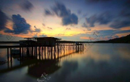 自然风光夕阳图片